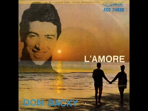 DON BACKY   L'AMORE   1965   ORIGINAL FULL ALBUM