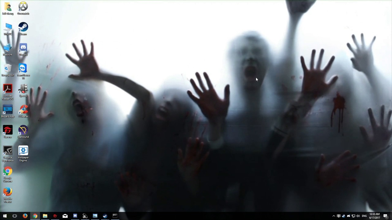 wallpaper engine (zombie) - YouTube