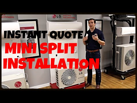How much does a mini split cost installed?