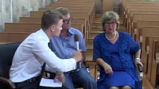 Борис Токарев и Людмила Гладунко (фильм Два капитана)
