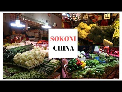 VLOG 4 :SOKONI CHINA : VYURA , NYOKA ,KOBE NI MBOGA ZA KAWAIDA TU