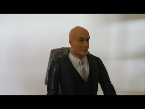 X MEN (2000) Professor X figure review