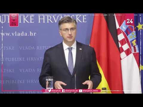 Croatia  Merkel Calls For Resistance To