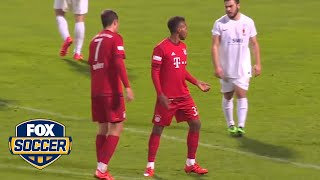 USA starlet Julian Green scored a sweet hat-trick for Bayern II