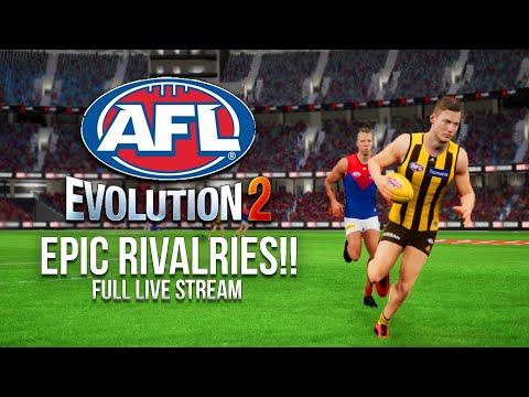Epic Rivalries!! - AFL Evolution 2 - Full Live Stream #2
