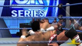 SVR 2011: WWE Survivor Series 2011 Alberto Del Rio vs Cm Punk (Result)