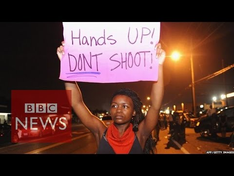 Ferguson protests: National Guard sent to Missouri unrest - BBC News