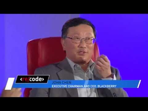 Replay of John Chen's interview from Code/Mobi - www.blackberryhack.com