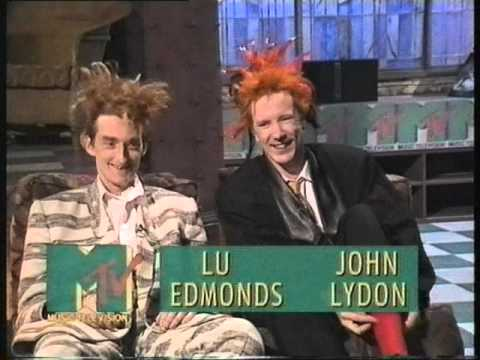 John Lydon Lu Edmonds Interview MTVE 12/09/87