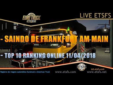 EURO TRUCK SIMULATOR 2  -- SAINDO FRANKFURT AM MAIN - TOP 10 RANKING