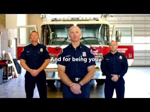 Thank you SBCoFD Employees