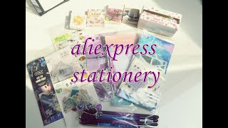 aliexpress stationery haul 🖍✨ ☾ #1 ☽