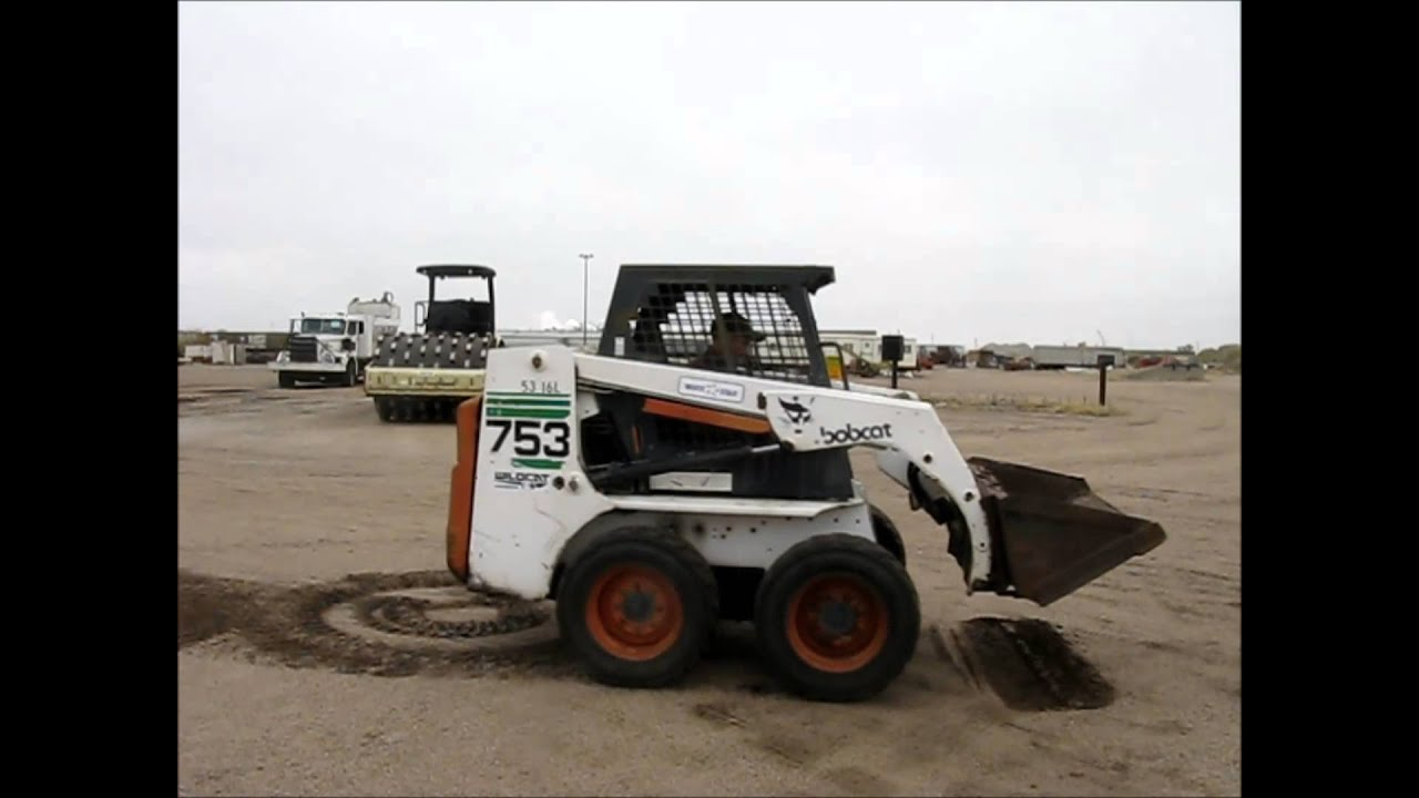1997 Bobcat 753 Skid Steer For Sale Sold At Auction December 19