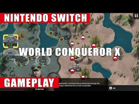 World Conqueror X Nintendo Switch Gameplay