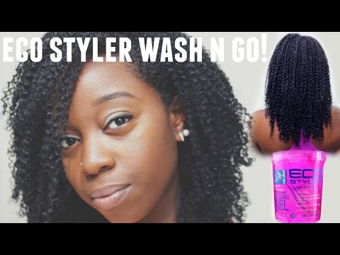 Wash N Go using ECO Styler Gel!!! | NATURAL HAIR