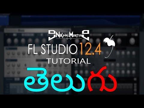 Fl Studio 12 Basic Mixing & Mastering Tutorial In Telugu | Dj Nikhil Martyn