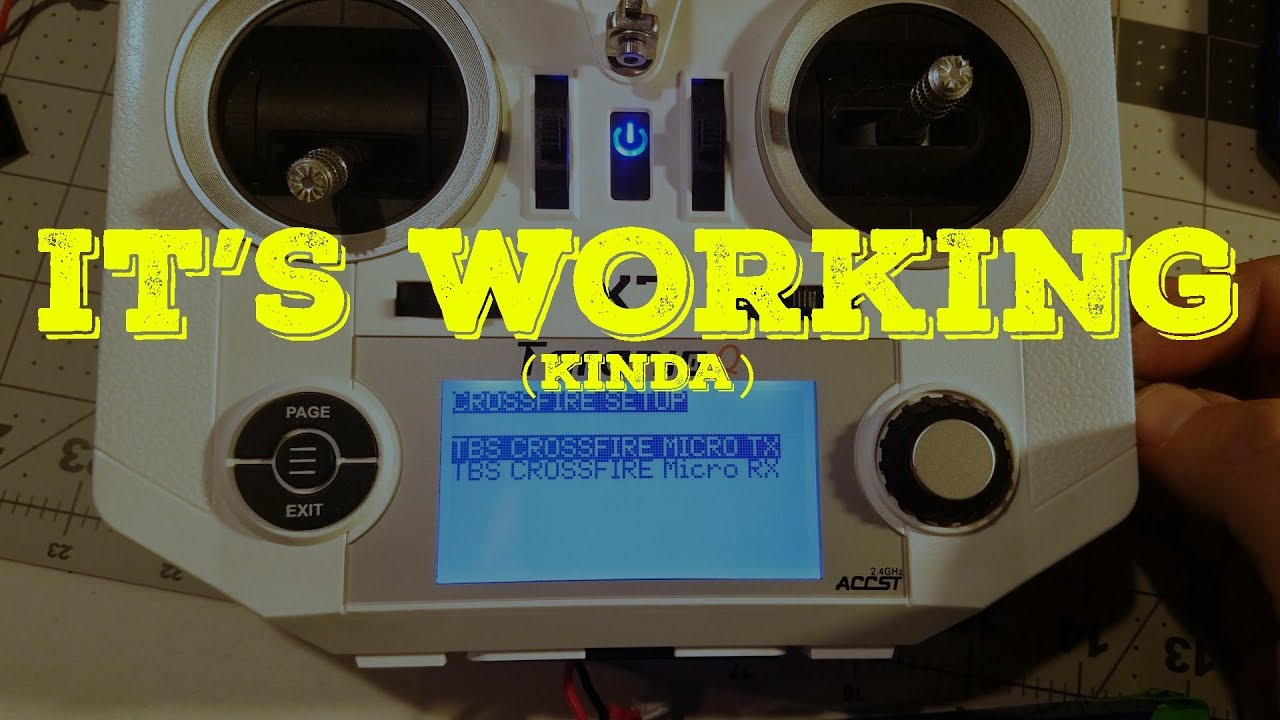 Update 3: TBS Crossfire Micro TX and FrSky X7 - Mod is working!