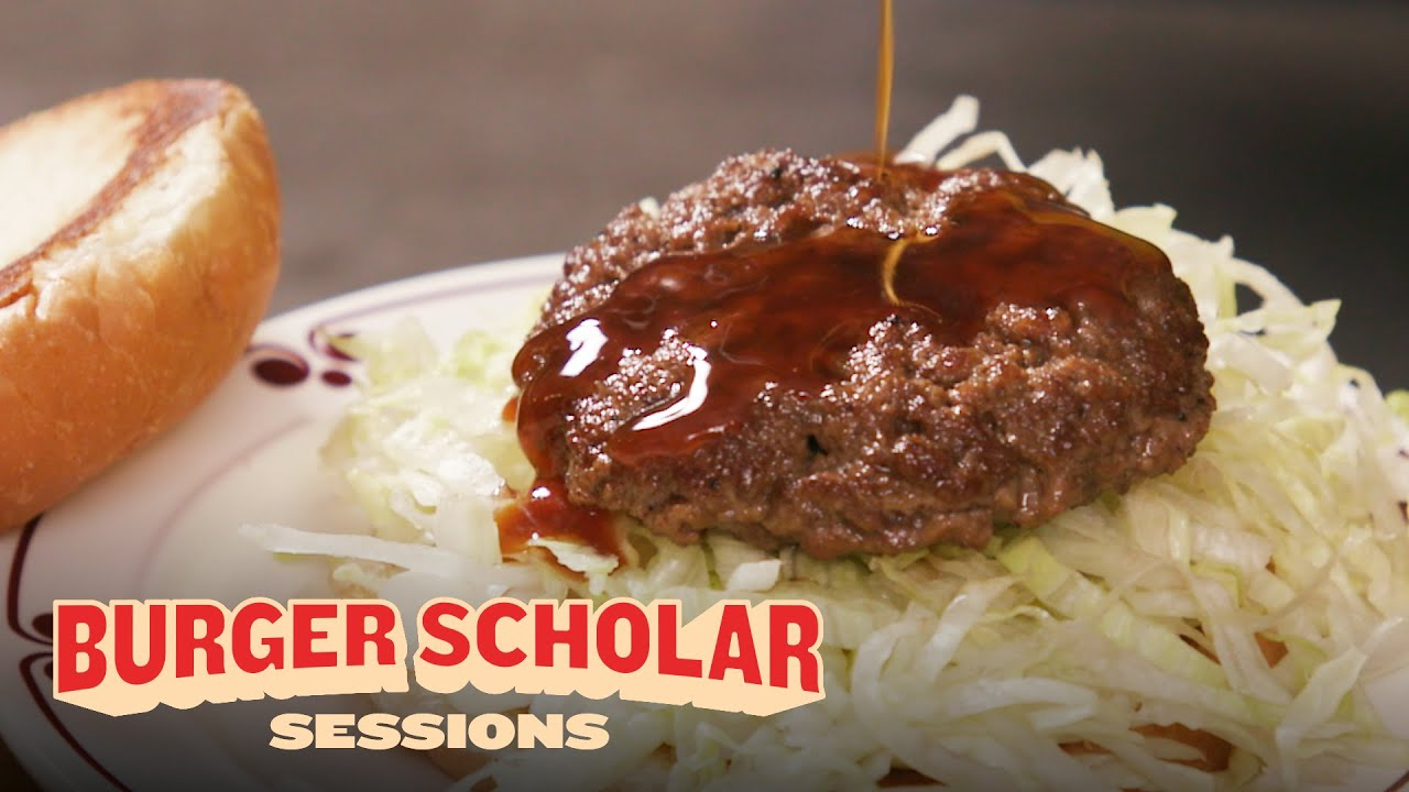 How to Cook the Ultimate Teriyaki Burger with George Motz   Burger Scholar Sessions