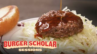 How to Cook the Ultimate Teriyaki Burger with George Motz | Burger Scholar Sessions