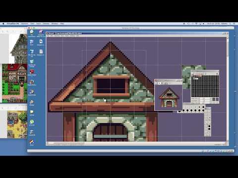 PIXEL ART TIMELAPSE - RPG House