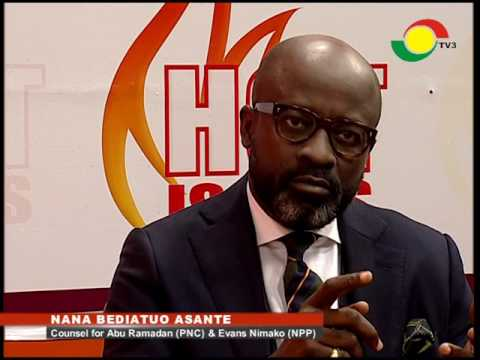 Hot - Issues - With Nana Bediatuo Asante - 14/5/2016