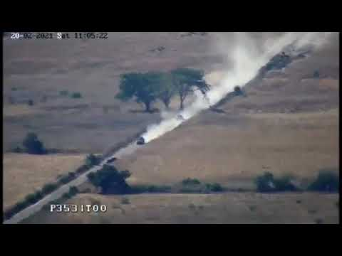 Ingresa convoy de camionetas blindadas del CJNG a Tepalcatepec, Michoacán