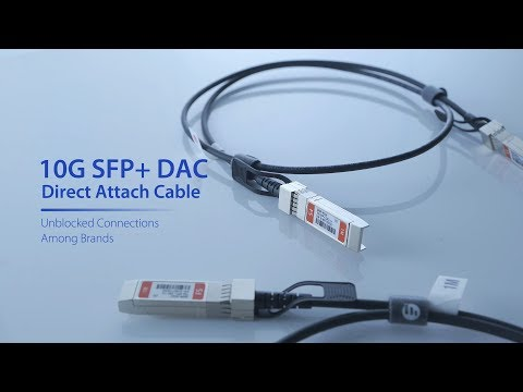 Passive Direct Attach Copper Twinax Cable Generic SRX-SFP-10GE-DAC-1M Juniper Compatible 1 Meter 10G SFP