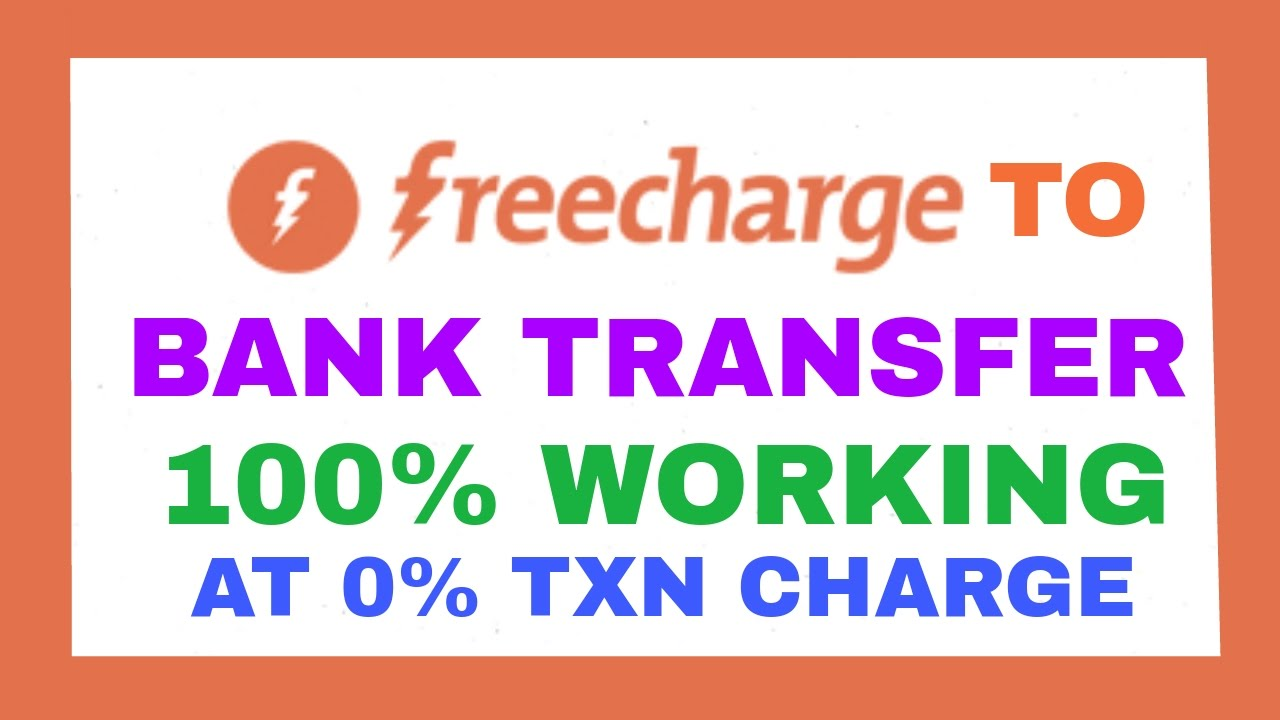 how to transfer money from freecharge to bank 2017 ! freecharge to bank  transfer working