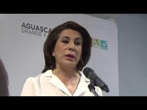 Hace un momento en vídeo Lorena Martínez candidata a la gubernatura de Aguascalientes pide disculpas