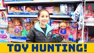 TOY EXPLORING AT WALMART! (L.O.L Dolls, Squishies, Baby Alive,…
