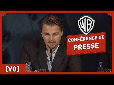 INCEPTION - Conférence de Presse (VO) - Leonardo DiCaprio / Christopher Nolan