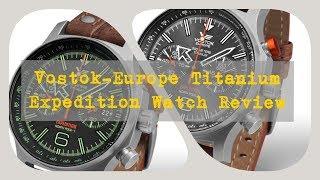 видео Часы Vostok Europe 6S21/2255253 Ракета №1. Мужские наручные часы (Восток Европа).