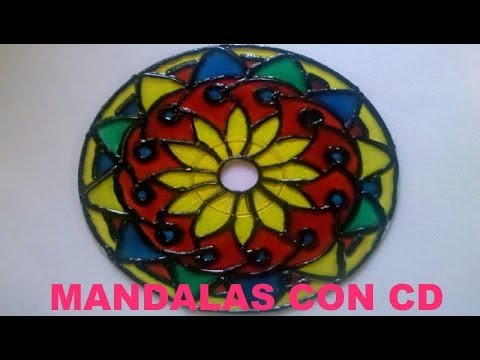 Tutorial - How to make mandala with CD