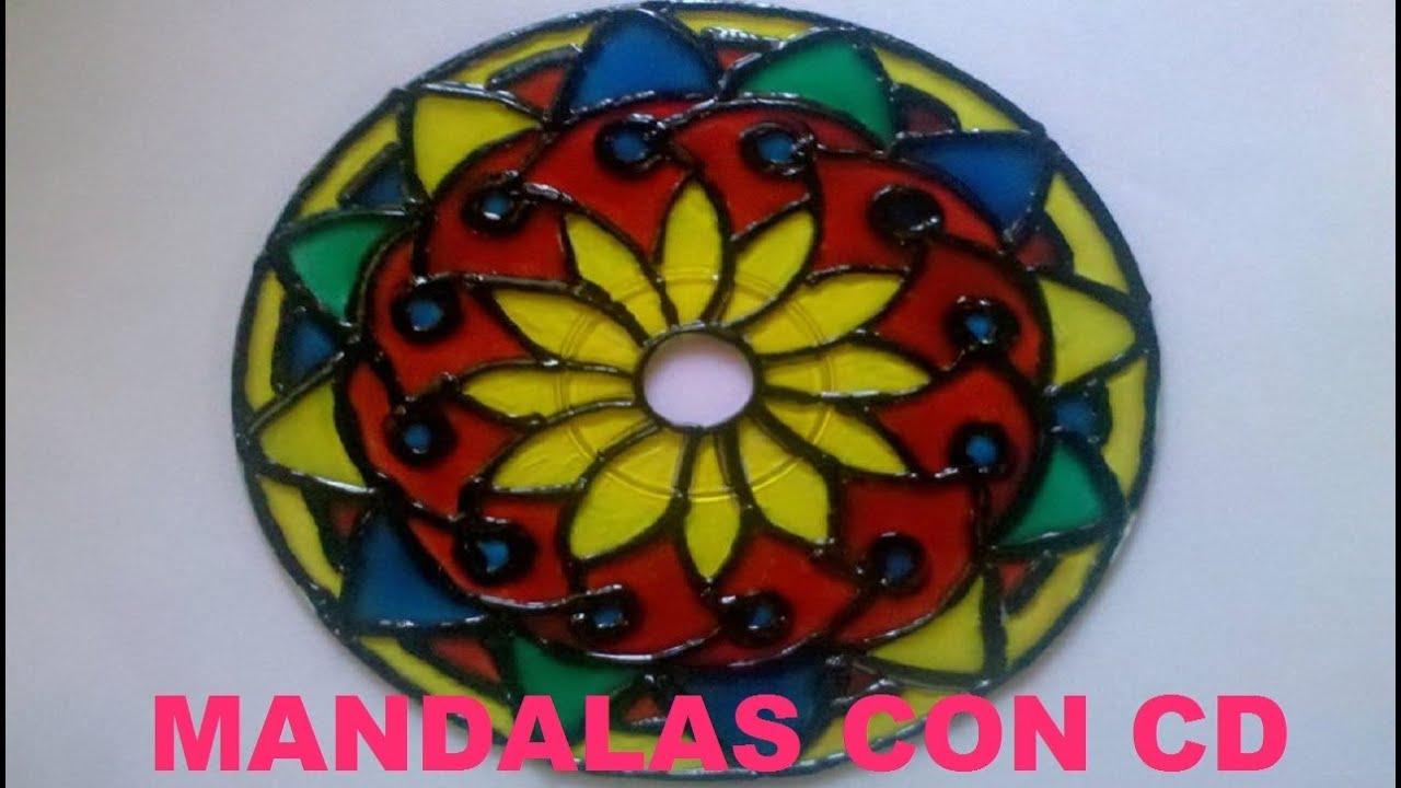 Decorar Con Pintura Un Mandala De Madera