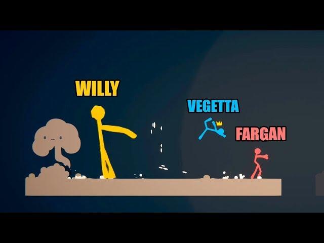 USO LOS HACKS Y GANO TODO! Stick Fight con Vegetta y Fargan