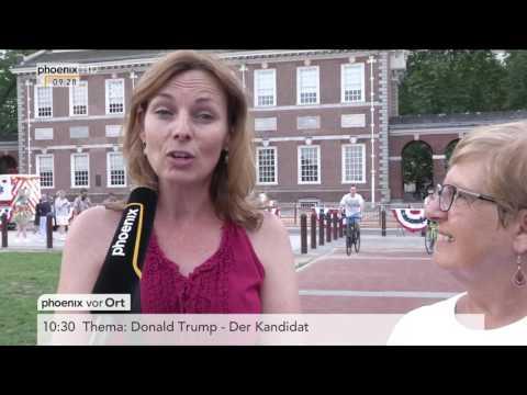 US-Wahl 2016: Michael Kolz berichtet aus Philadelphia am 25.07.2016