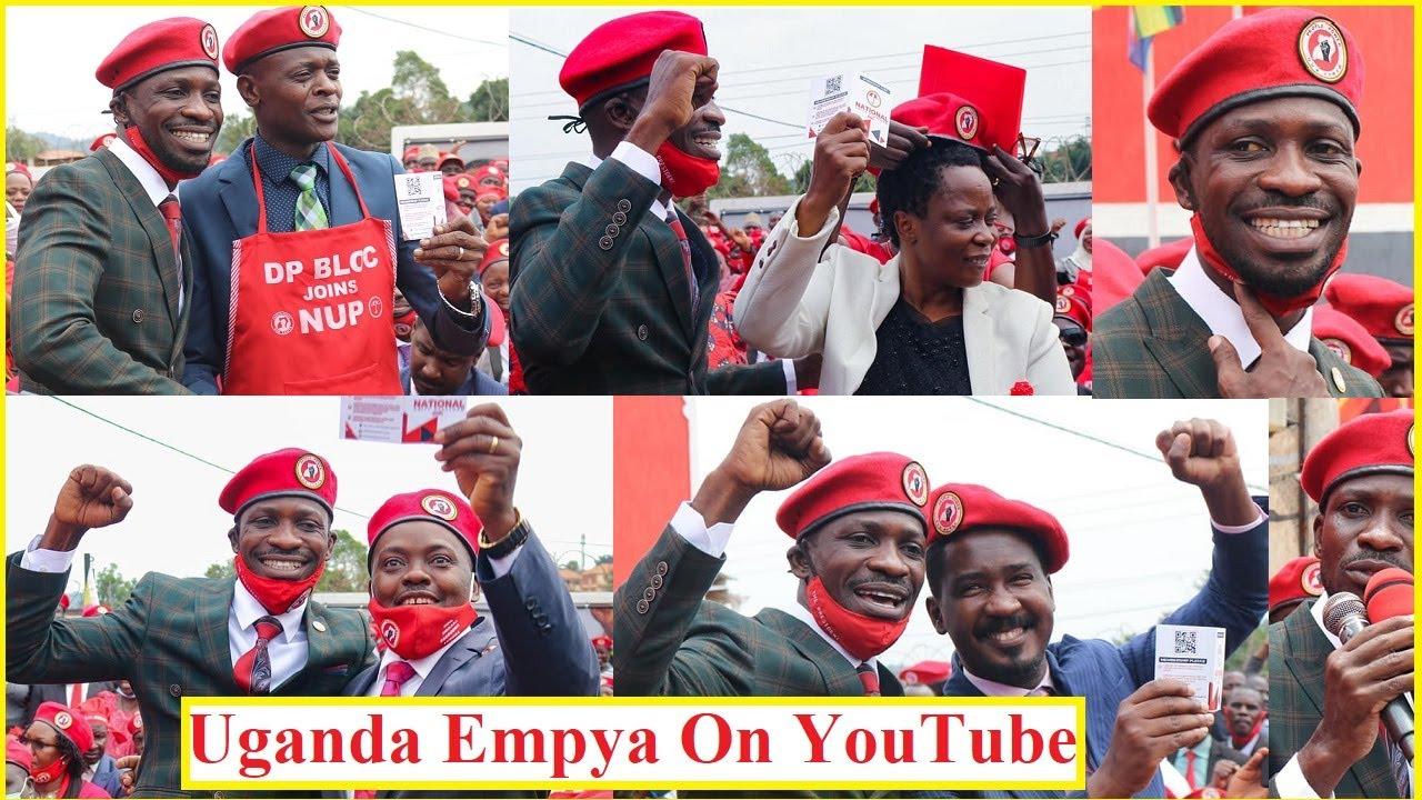 Bobi Wine Full Speech DP Block Joining NUP