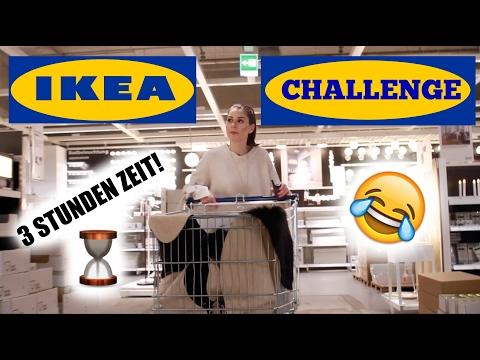IKEA CHALLENGE: WOHNZIMMER EINRICHTEN in 3 STUNDEN! 😂 mit AlexiBexi