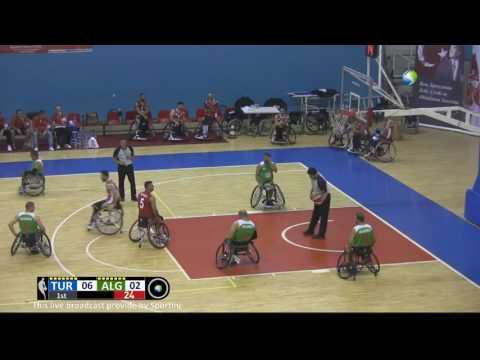 Turkey v Algeria FIRST HALF | Wheelchair Basketball