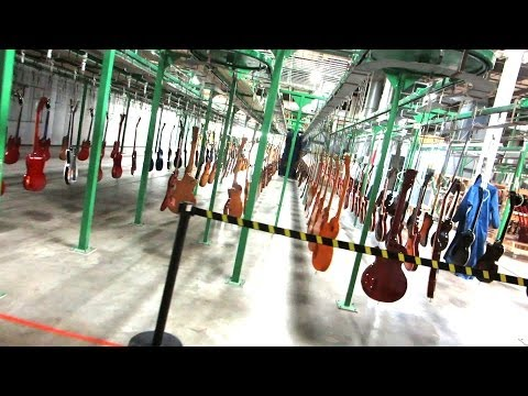 Gibson Factory Tour Surprise!!