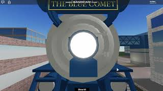 Roblox Rails Unlimited Driving The Blue Comet