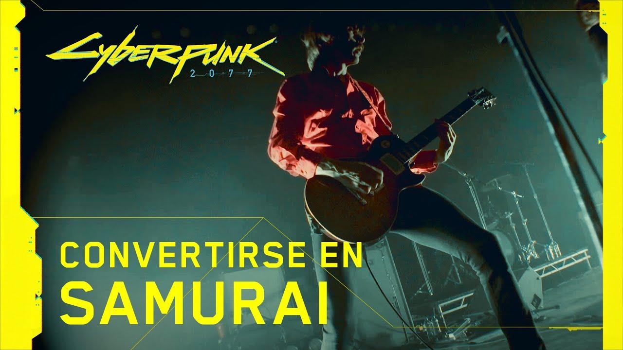 Cyberpunk 2077 - Convirtiendote en Samurai | PS4