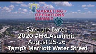 FRLA Marketing + Operations Summit Highlight Reel