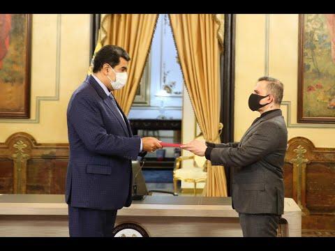 """Nicolás Maduro recibe de Tarek William Saab informe """"La Verdad de Venezuela"""" sobre derechos humanos"""