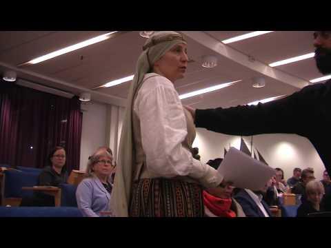 Ditta af Östersjöväldet slängs ut fr Haninge Kommunfullmäktige 6.11.17