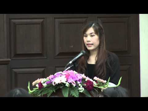 """งานแถลงข่าวโครงการวิจัย """"การใช้ภาษาไทยในข่าวโทรทัศน์: แนวทางปรับสู่ภาษามาตรฐาน"""" 1/5"""