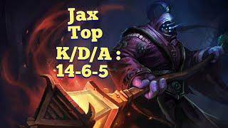 Jax Top   Wild Rift   Liên Minh Huyền Thoại Tốc Chiến
