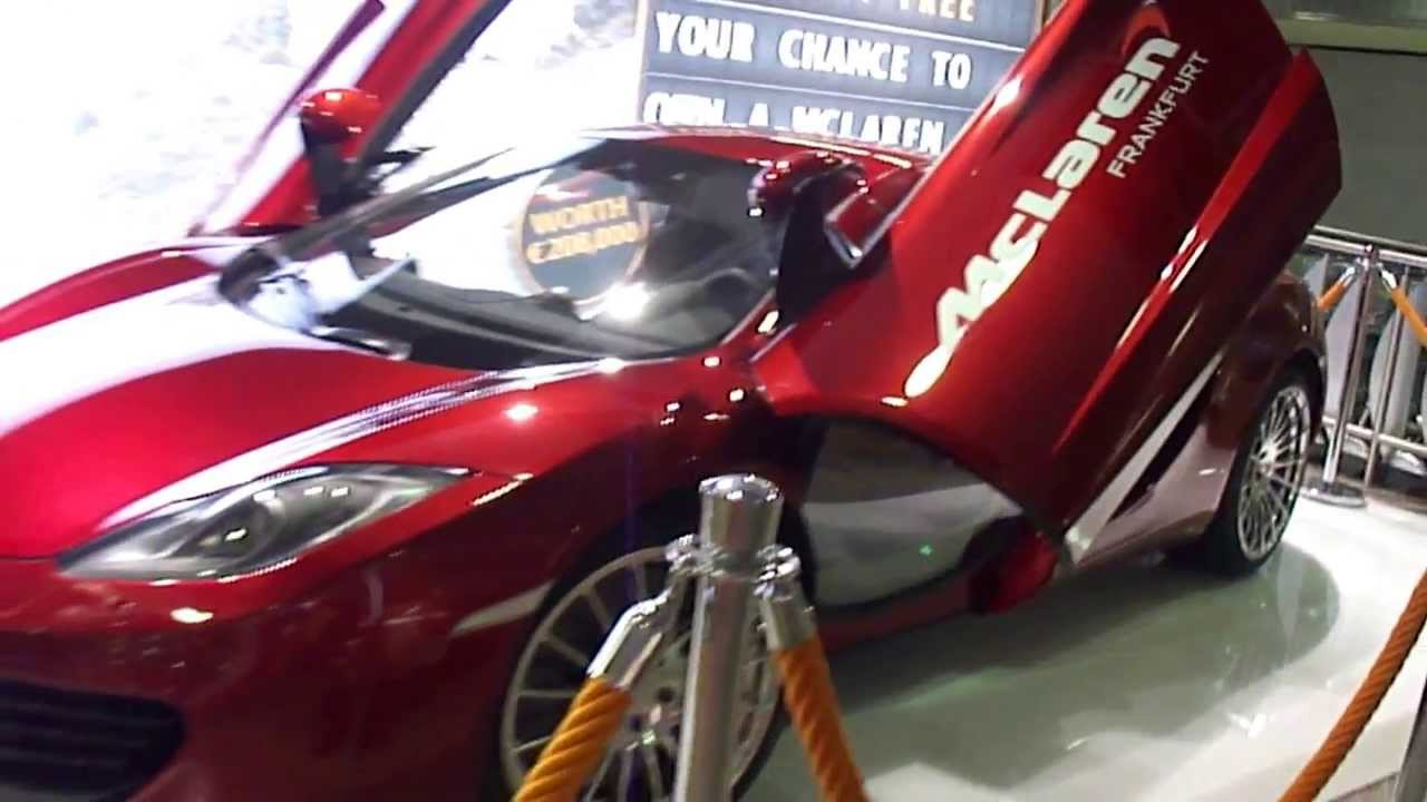 mclaren mp4-12c in frankfurt airport. - youtube
