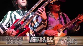 KINGS OF COUNTRY ROCK CREEDENCE VS EAGLES PROMO