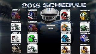 Dallas Cowboys 2015-2016 Schedule - Finally A Favorable Schedule